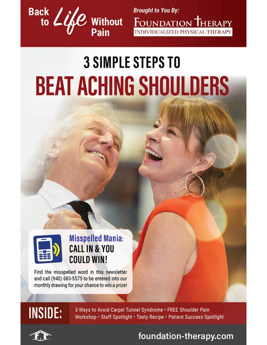 simple steps to beat aching shoulders
